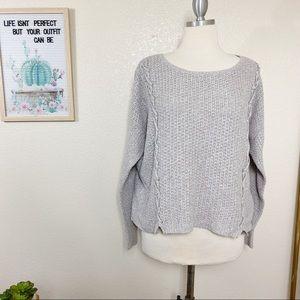 American Eagle Sz XL Sweater Oatmeal